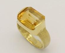 Anel Topázio Amarelo em Ouro Amarelo 18k 750 (4)