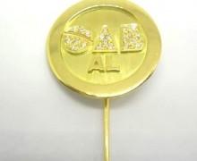 Botton OAB Diamante Ouro Amarelo 18k 750 (2)