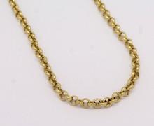 Corrente Elo Portugues Ouro Amarelo 18k 750  (2)