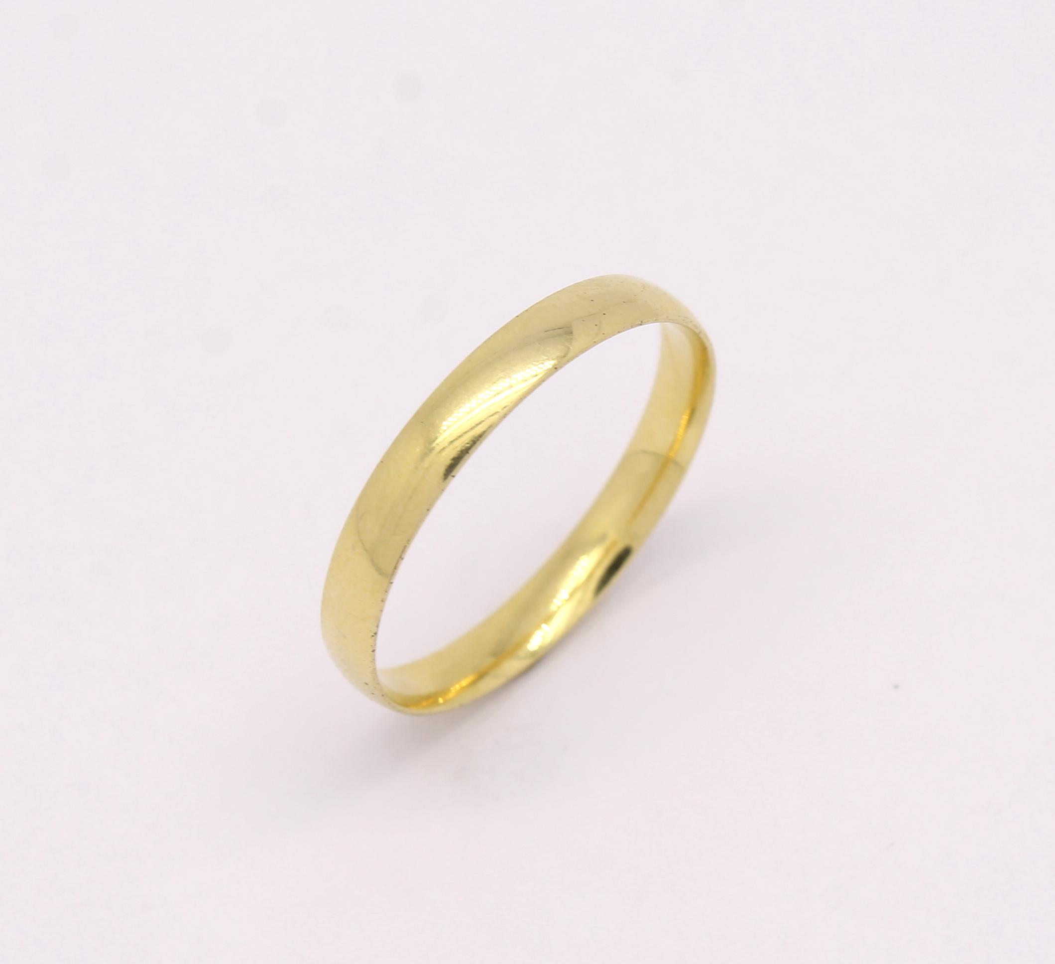 Moda feminina ouro alianças gramas aliança amarelo - Multiplace 877cb94c98