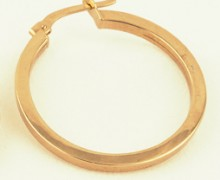 Brinco Argola Ouro Amarelo 18k 750 (2)