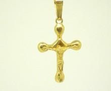 Crucifixo Ouro Amarelo 18k 750