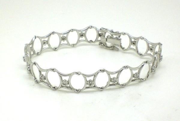 Pulseira Feminina Diamantes Ouro Branco 18k 750   Marcio Joalheiros 86b62938b6