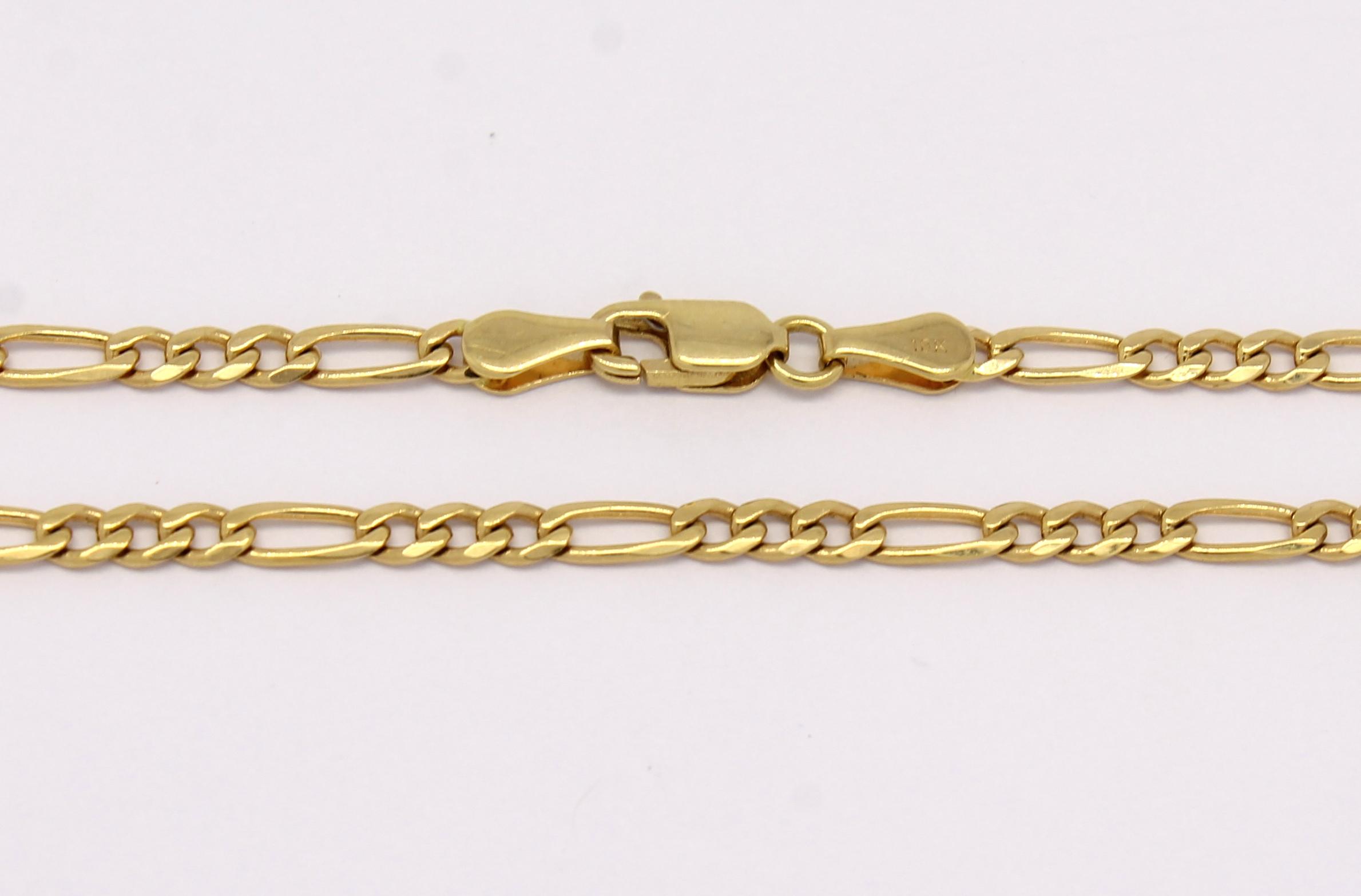 8ffffbe717e Corrente Elos 3x1 60 cm Ouro Amarelo 18k 750 - Marcio Joalheiros ...