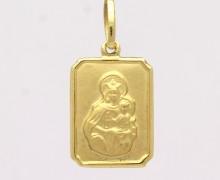 Pingente Escapulário Ouro Amarelo 18k 750 (2)