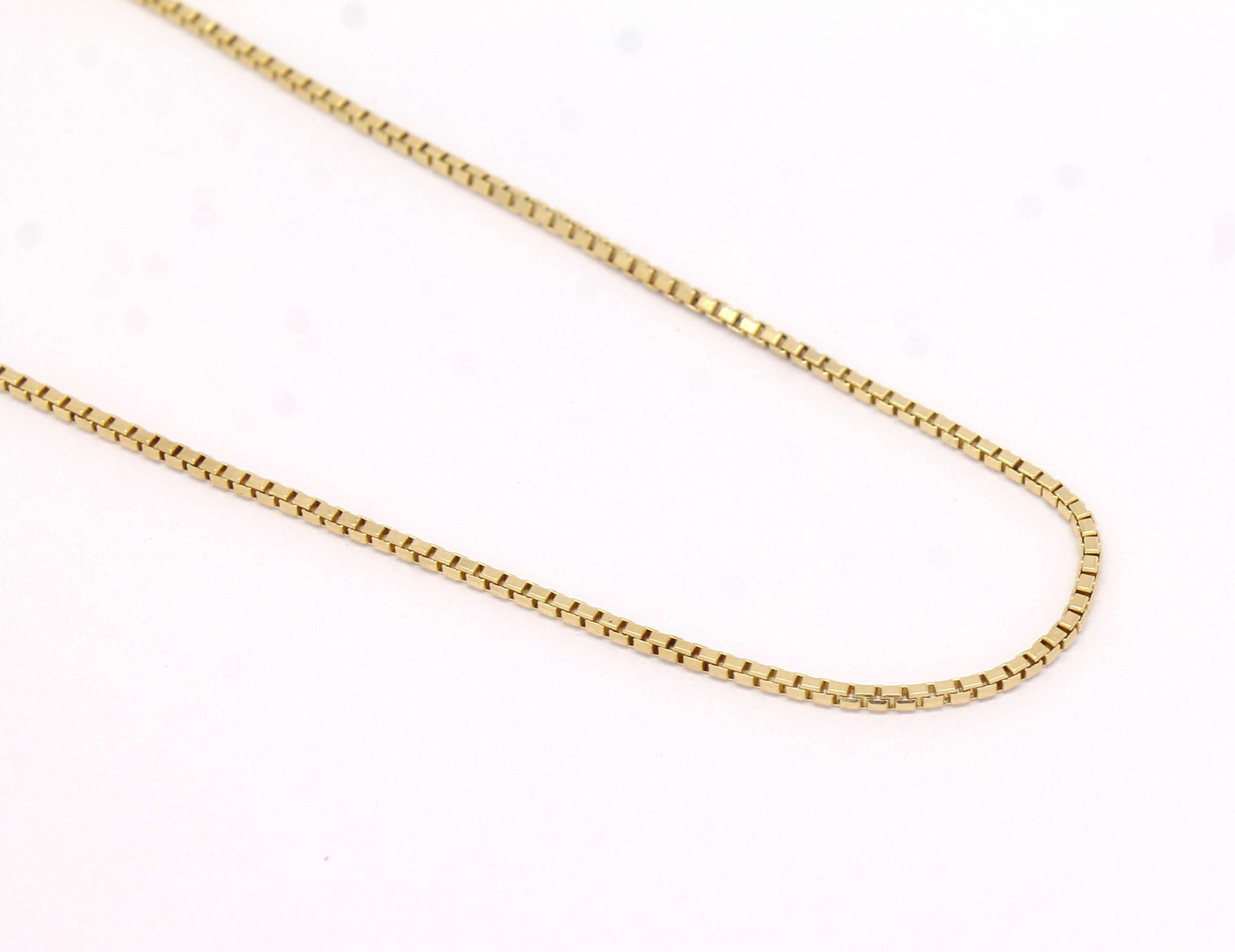 5a6b6033692b2 Corrente Veneziana 60 cm Ouro Amarelo 18k 750 - Marcio Joalheiros ...
