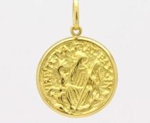 Medalha de São Bento Ouro Amarelo 18k 750 (2)