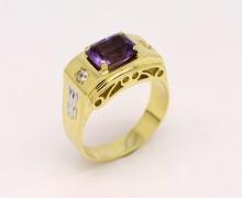 Anel de Formatura Masculino Ouro 18k 750 (7)