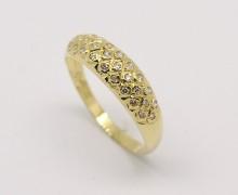 Aparador de Aliança 28 Diamantes Ouro 18k 750 (6)