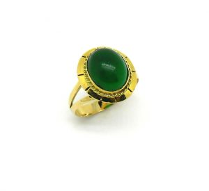 Anel Jade Ouro Amarelo 18k 750 (1)