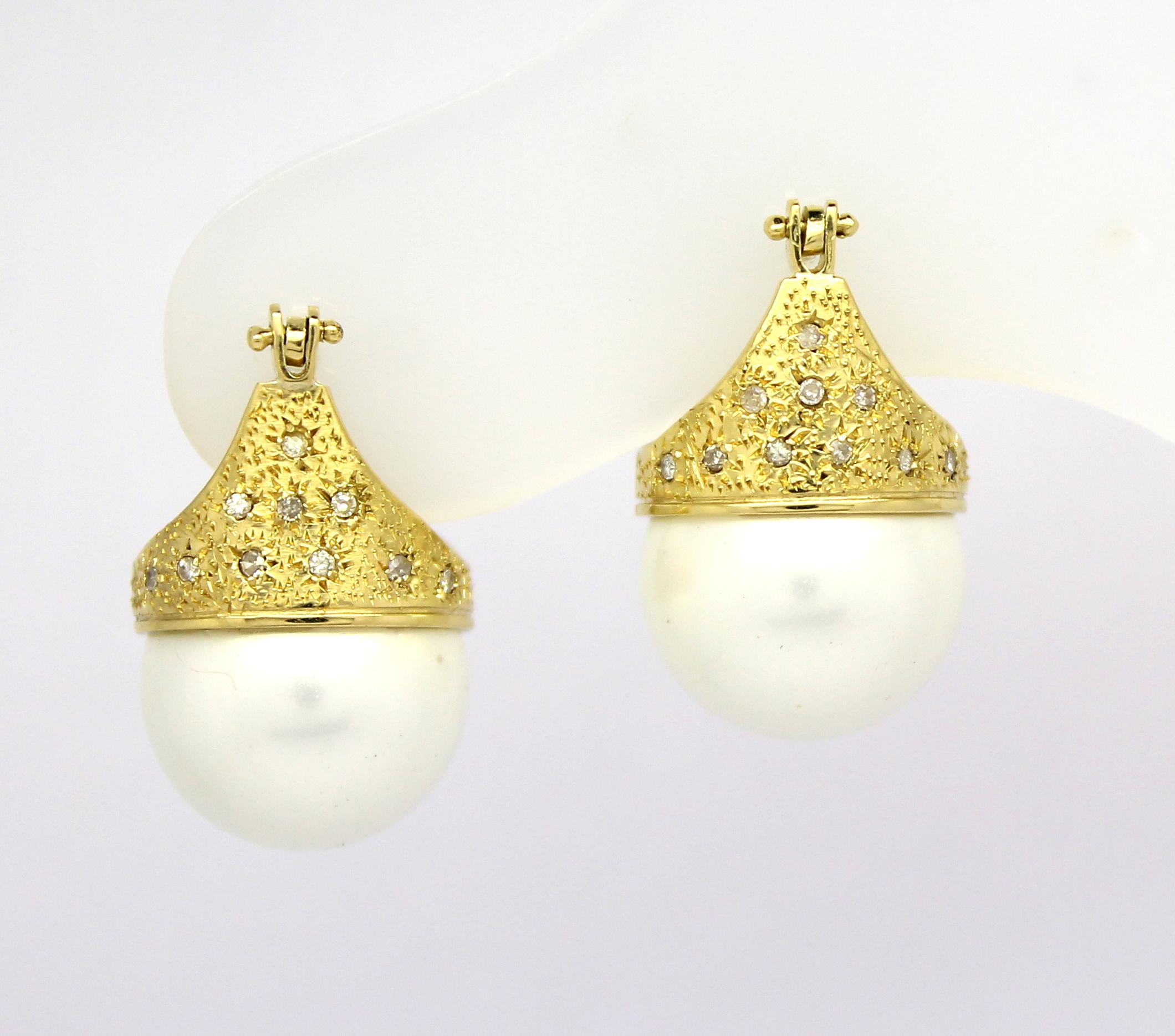 4407c2688f564 Brinco Lady Di Diamantes Ouro Amarelo 18k 750 - Marcio Joalheiros ...