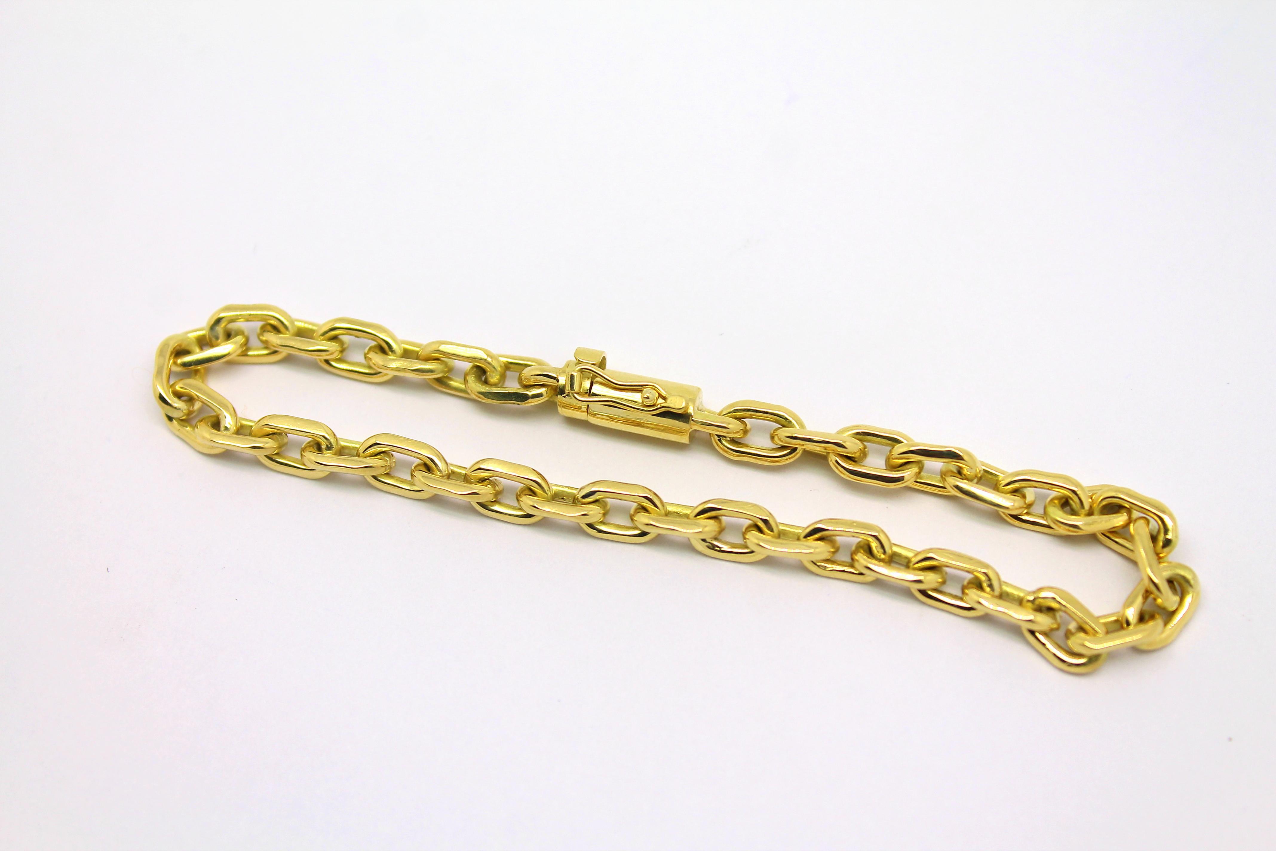 89e1a333593 Pulseira Cartier 20 gramas Masculina Ouro 18k 750 - Marcio ...