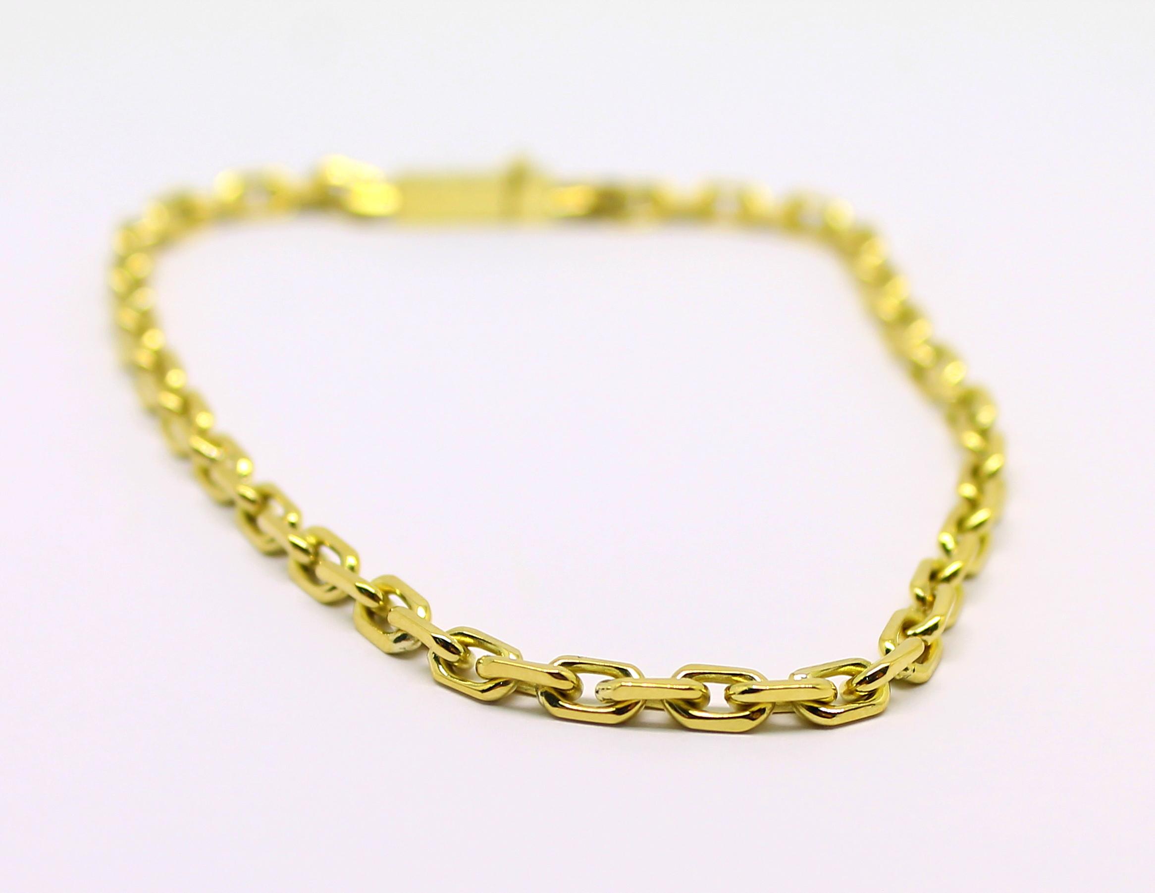 01b4a952847 Pulseira Cartier 10 gramas Ouro 18k 750 - Marcio Joalheiros   Marcio ...