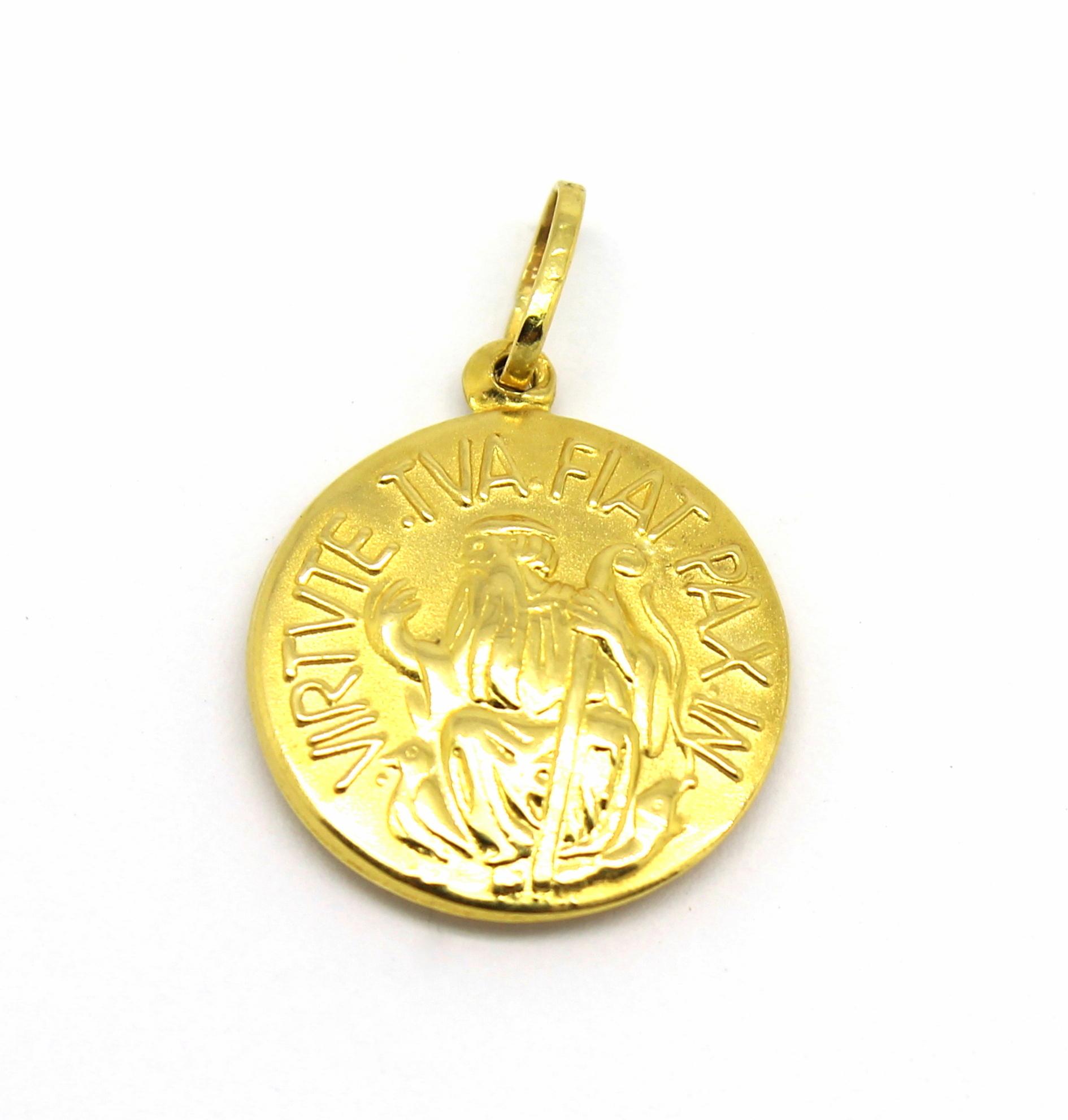 de93a7561d327 Pingente São Bento Ouro 18k 750 - Marcio Joalheiros   Marcio Joalheiros