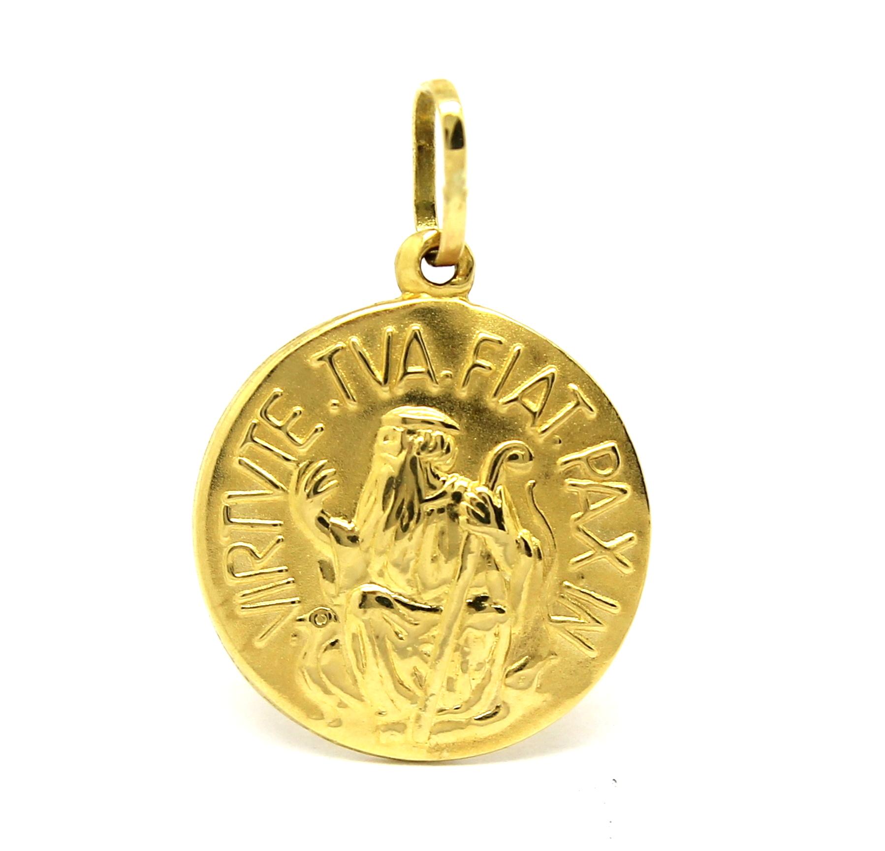 9f37772f60531 Pingente São Bento Ouro 18k 750 - Marcio Joalheiros   Marcio Joalheiros